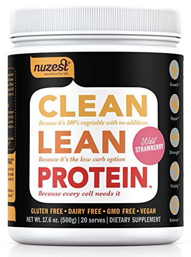 Nuzest Clean Protein Strawberry pounds product image
