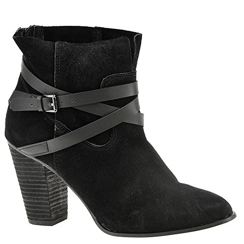 Carlos Santana Wrap (Carlos by Carlos Santana Women's Miles Ankle Boot, Black, 9.5 Medium US)