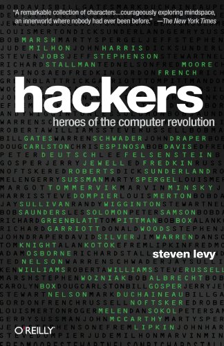 Hackers: Heroes of the Computer Revolution – 25th Anniversary Edition Front Cover