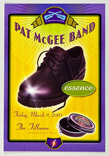 Pat McGee Band 2001 Mar 9 New Fillmore F441 - Fillmore New Poster Concert