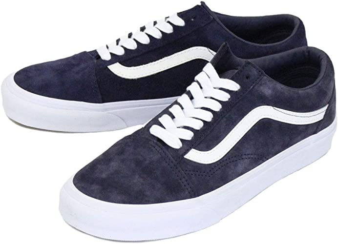 vans old skool bleu suede