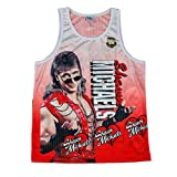 Shawn Michaels Fanimation WWE Chalkline Tank Top-M