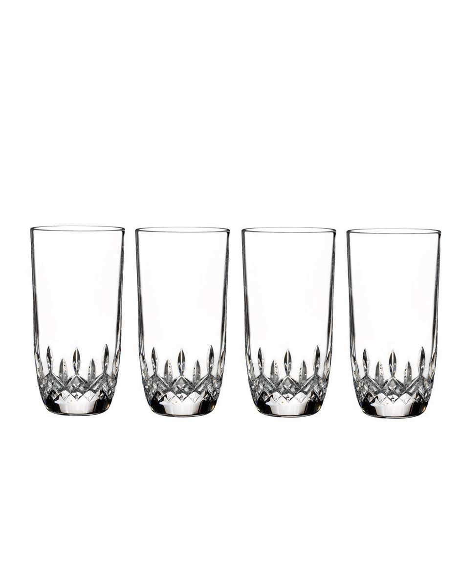 Waterford Lismore Set Of 4 Encore Hi-Ball