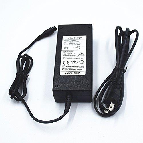 42V 2A 84W adaptador de alimentación powerfast Conector Inline de 3clavijas para deportes de Pocket Mod, Mod, y la...
