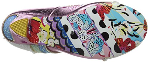 Love Summer col Choice Donna A Rosa Chiusa Pink Scarpe Punta Irregular Tacco of U5txfnXn