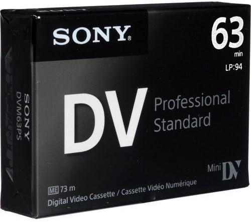 Sony DVM63PS MiniDV 63min Professional Standard 5 Pack