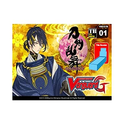 "Cardfight Vanguard ""G-Title Booster Display 01 Touken Ranbu Online Card Game (Pack of 12): Toys & Games"
