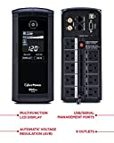 CyberPower Intelligent LCD UPS System, 1350VA/815W, 10 Outlets