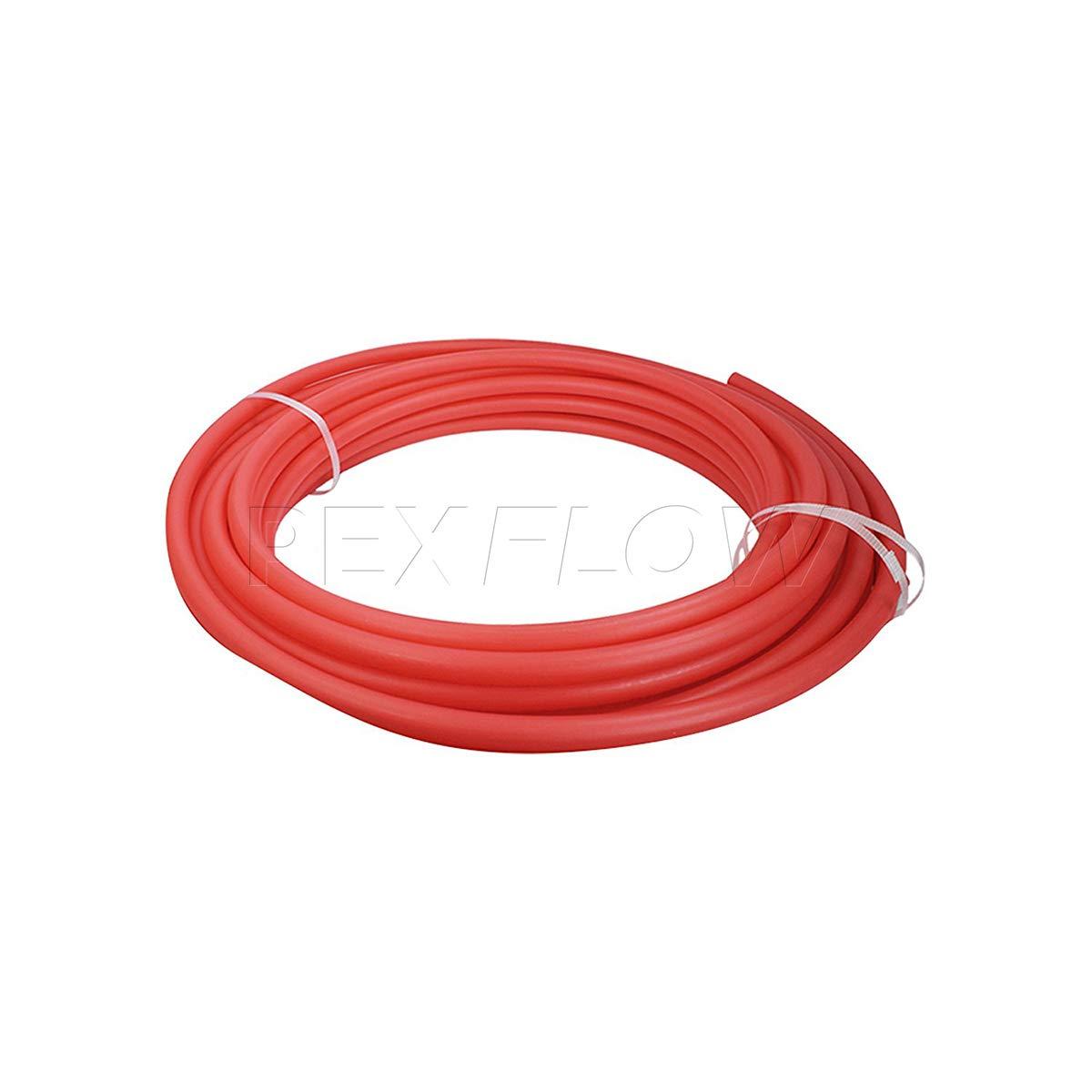 Pexflow PFW-B1100 PEX Potable Water Tubing Non-Barrier Pipe Blue 1 Inch x 100 Feet