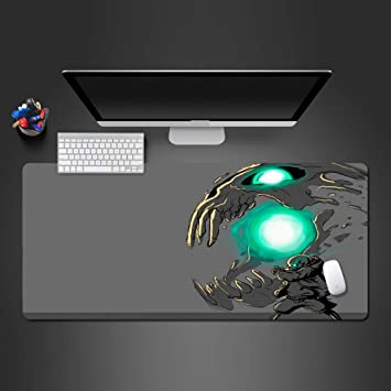 Alfombrilla De Ratón 90 * 30Cm Blue Flame Mouse Pad Pc Gaming ...