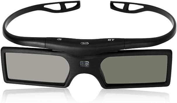 TOOGOO(R) G15-BT Bluetooth 3D Gafas de obturador active para Epson ...