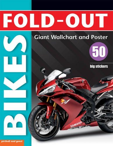 Fold-out Bikes, plus 50 big stickers, Giant Wall Chart & Poster. (Fold-out Poster Sticker Books) ebook