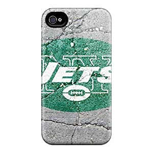 Protector Hard Phone Covers For Iphone 6plus With Support Your Personal Customized High Resolution New York Jets Pattern LauraAdamicska