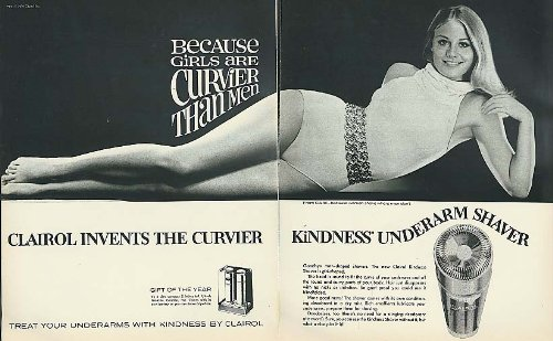 Cybill Shepherd for Clairol Kindness Underarm Shaver ad - Clairol Kindness