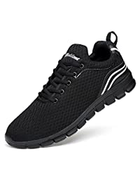Belilent Men's Women's Lightweight Sneakers Athletic Casual Walking Shoes for Outdoor Travelling Gym Workout
