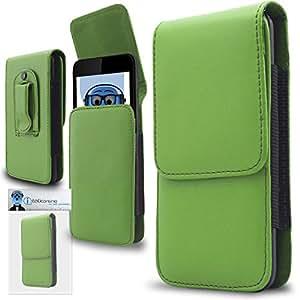 iTALKonline HTC Desire 530Vertical Junta lateral Premium de piel sintética funda con tapa con clip de cinturón y cierre magnético