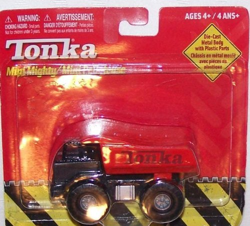 Tonka Mini Mighty Red Die-Cast Dump Truck