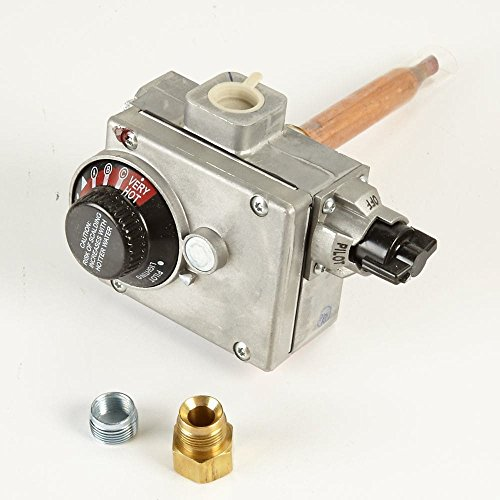 Temperature Control Assembly - Kenmore 37C73U-173 Water Heater Gas Valve and Temperature Control Assembly Genuine Original Equipment Manufacturer (OEM) Part for Kenmore