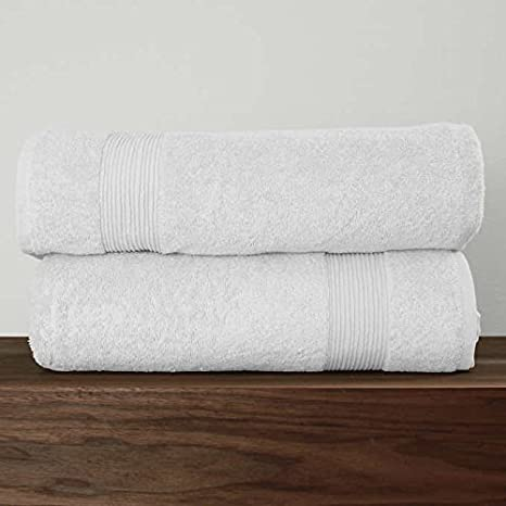 82af4c9bbb69 Image Unavailable. Image not available for. Color: Signature Collection  600GSM 2-piece Bath Sheet Set ...