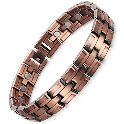 Rainso Copper Magnetic Bracelet Relief
