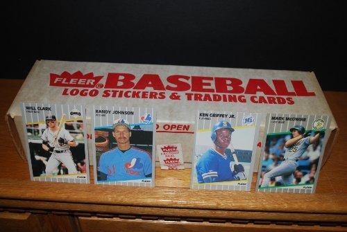 1989 Fleer Baseball Factory Sealed Complete Set (Ken Griffey Jr. Rookie) (Randy Johnson Rookie) (John Smolts Rookie) (Gary Sheffield Rookie) (Craig Biggio Rookie) from Fleer