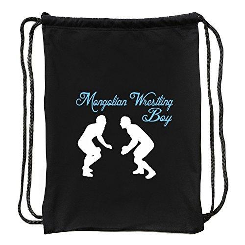 Eddany Mongolian Wrestling boy Sport Bag by Eddany