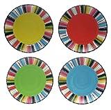 Certified International Santa Fe 10-3/4-Inch Dinner Plate, Set of 4