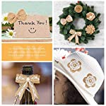 Dzty-24PCS-Burlap-Flowers-10-Styles-Natural-Handmade-Rustic-Rose-Flower-Bowknot-with-Faux-Pearls-for-DIY-Craft-Bouquets-Home-Wedding-Party-Decoration