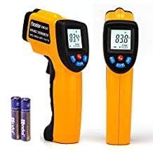 Laser Infrared Thermometer Peralng -58℉~716℉ Non-contact Digital LCD Display Handheld Conversion Accurate Temperature Gun