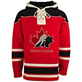 '47 Team Canada IIHF Heavyweight Jersey Lacer Hoodie - Small