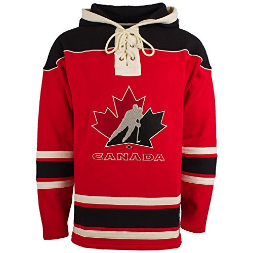 Team Canada IIHF '47 Heavyweight Jersey Lacer Hoodie - (Team Canada Jersey)