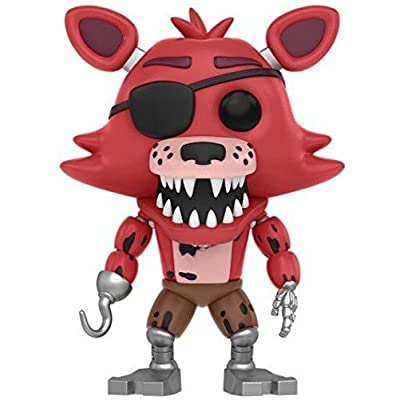 Funko Five Nights at Freddy's - Foxy The Pirate Toy Figure: Funko Pop! Games: Toys & Games