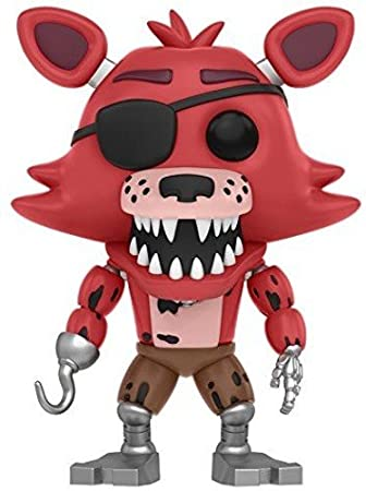 Vinilo Colección Five Nights at FreddyS - Figura Foxy (11032)