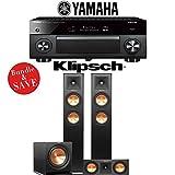 Yamaha AVENTAGE RX-A2070BL 9.2-Ch 4K Network AV Receiver + Klipsch RP-250F + Klipsch RP-250C + Klipsch R-112SW - 3.1-Ch Home Theater Package