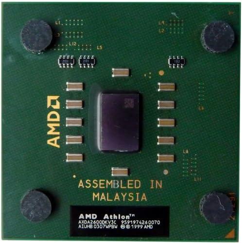 Amazon Com Amd Athlon Xp 2600 Cpu Thoroughbred Core Socket A 462 Pin 2 133 Ghz 266 Fsb Computers Accessories