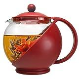 Primula Flowering Tea Gift Set 40-Ounce Tea Pot
