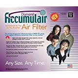 17-1/2 x 27 x 4 - Accumulair Diamond Filter - MERV 13