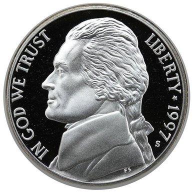 1997 S Jefferson Proof Nickel PF1