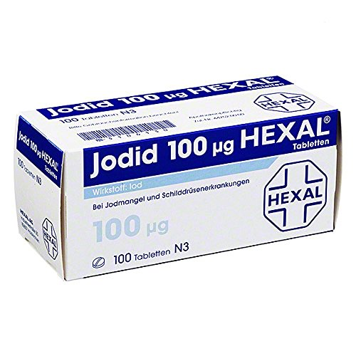 Jodid 100 Hexal Tabletten 100 stk