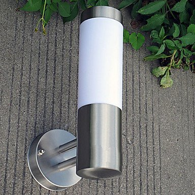 ZQ Character design Outdoor Wall Light, 1 Light, Concise Aluminum Acrylic Painting , 110-120V by Outdoor Wall lamp ZQ (Image #2)