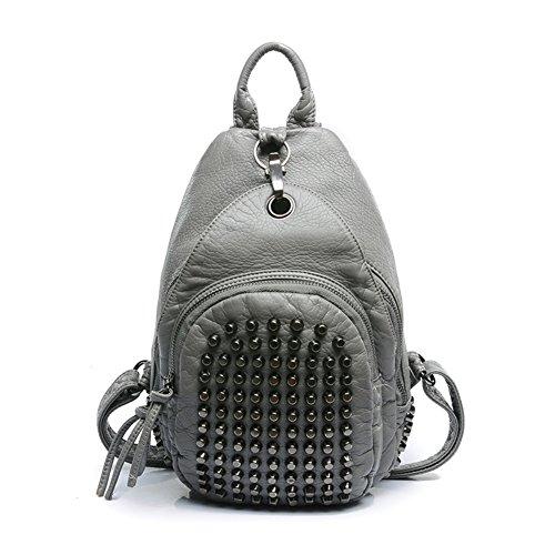 JOYSKY HB440154C2 2016 PU Leather Korean Style Women's Handbag,Soft Backpack