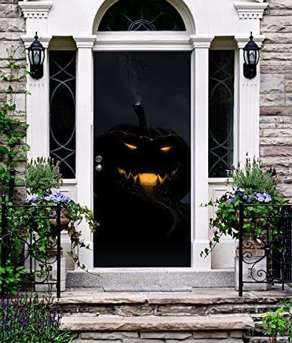Pumpkin Front Door: Amazon.com: Jack O Lantern Front Door Cover