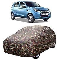 Sarte Water Resistant Car Cover for Maruti Suzuki Alto 800/ Alto K10 / (Jungle Print)