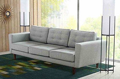 7052f1b37fead2 ... günstig online kaufen. MY-Furniture LUCIENE 3-Sitzer Sofa in Malaga Alu  Silber
