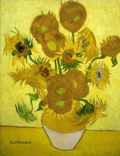 Sunflowers, Vincent van Gogh Diary / Notebook / Journal 8.5 x 11 inch, 120 lined pages ()