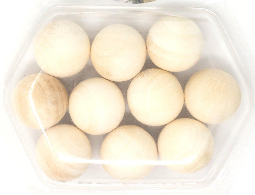 Petanca/bolas de madera de 10clavijas Brimtoy