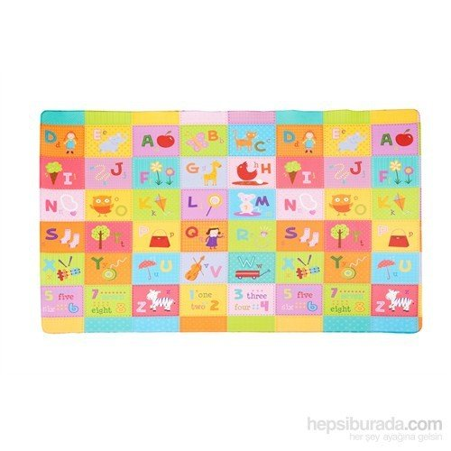 Serra Baby The Flower Garden Game Mat Dwinguler 190x130cm, thickness 11mm by Serra Baby