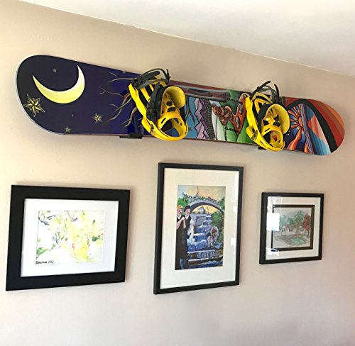Naked Snow | Snowboard Display Wall Rack | StoreYourBoard
