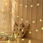 #LightningDeal Lyhope Window Curtain Lights, Low Voltage Adapter 300 LED 8 Mode