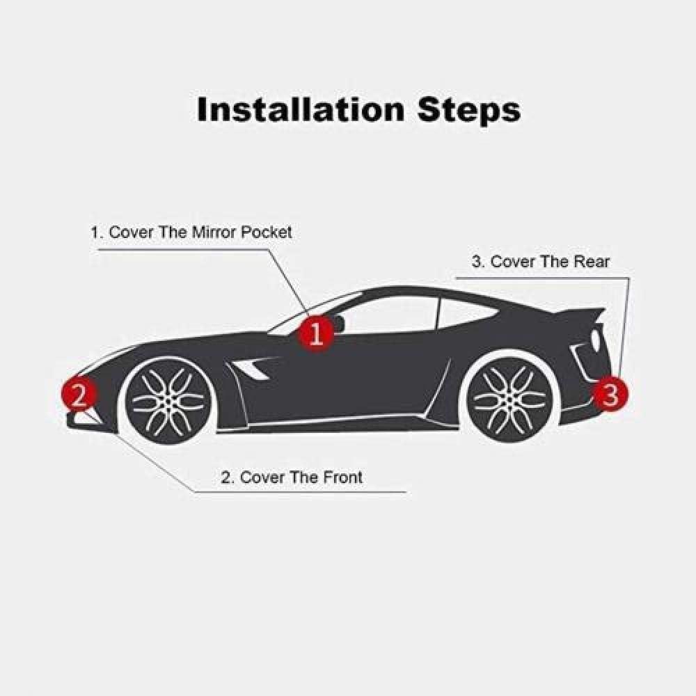 Housses Pour Auto Voiture Compatible Jaguar F-PACE//F-TYPE//XJ//XF Sportbrake//F-Type Coupe//XKR-S Convertible Quatre Couches Tissu Oxford Etanche Air Voyage Garage Mobile Prot/éger la peinture automobile